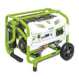 Groway GEN 3200B - Generador eléctrico a gasolina de 212 cc, 3000 W, 230 V, monofásico
