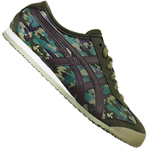 ASICS ONITSUKA TIGER MEXICO 66 CAMO MILITARY DAMEN SNEAKER SCHUHE CAMOUFLAGE, Schuhgröße:EUR 37;Farbe:Camouflage -