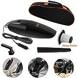 Auto aspirador, Wietus 12 Volt, 12 Volt 75W 2800-3000pa 14,8 pies (4,5 millones) cable de alimentación portátil car Vacuum Cleaner / limpiador de vacío bolsa de portátil con una aspiradora de mano