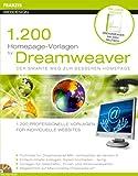 1200 Homepage Vorlagen für Dreamweaver