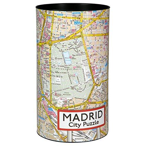 Preisvergleich Produktbild Extragifts City Puzzle Madrid