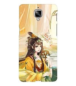 EPICCASE fairy princess Mobile Back Case Cover For OnePlus Three (Designer Case)