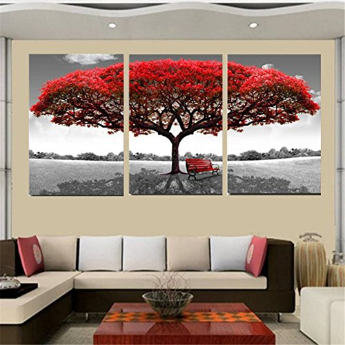 king-do-way-red-tree-canvas-print-on-wall-painting-artwork-home-office-art-decoration-50x70cm