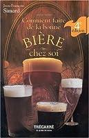 COMMENT FAIRE DE LA BONNE BIERE CHEZ SOI auteur: Jean-François Simard langue: français 271 pages Vous trouverez dans cet ouvrage clairement expliqué tout ce que vous devez savoir pour réussir votre propre bière : le matériel à acquérir, le choix des ...