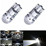 #10: EASY4BUY T10 SMD 168 w5w CREE Chip Led Replacement Bulb Car License Plate Parking Light