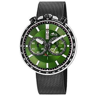 Lotus Reloj Cronógrafo para Hombre de Cuarzo con Correa en Acero Inoxidable 10139/2