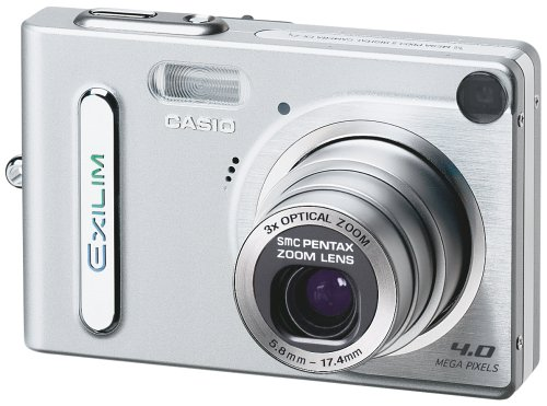 Casio EXILIM EX-Z4 Digitalkamera (4,0 Megapixel)