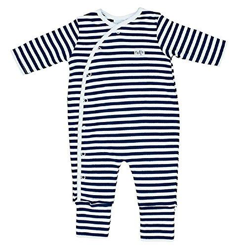 FEETJE Frühchen-Overall Baby Strampler, Größe 56, blau