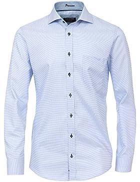 CASAMODA Herren Businesshemd bügelfrei 100% Baumwolle - Modern Fit