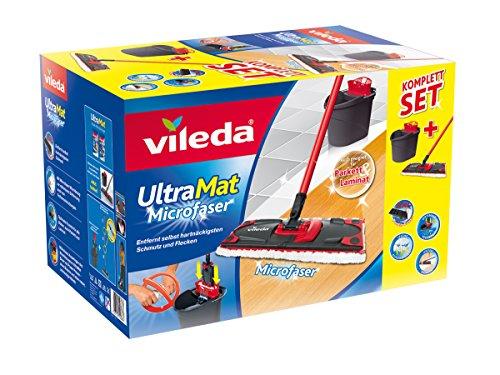 Vileda Ultramat Komplett Set, Bodenwischer und Eimer mit PowerPresse - Bild 8