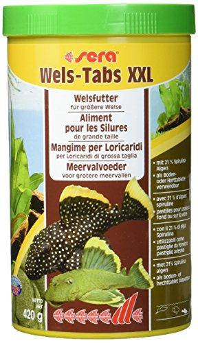 sera Wels-Tabs XXL 1.000 ml das Futter für größere Welse: Als Boden- oder Hafttablette nutzbar