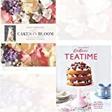 Cakes in Bloom and Teatime: 50 cakes and bakes for every occasion 2 Books Bundle Collection