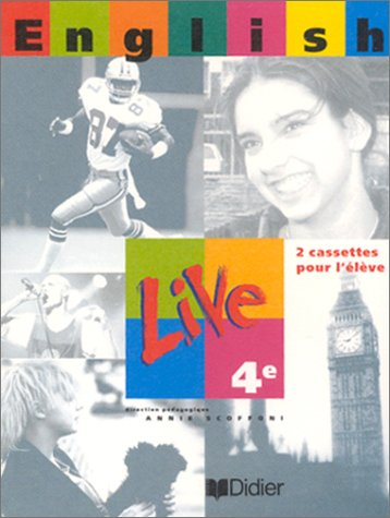 English Live, 4e LV1 (coffret 2 cassettes)