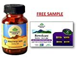 Organic India Beautifu Skin 60 Capsule Bottle with free Bowelcare Capsule sample