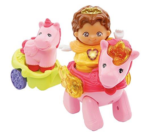 VTech - Conjunto de figuras Princesa y sus unicornios (80-177105) (versión en francés)