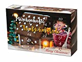 Trinkschokolade Adventskalender Kakao 24x 40 g Märchenhafte Trinkschokolade mit...