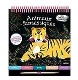 Mes tableaux à gratter des animaux fantastiques : 20 cartes à gratter