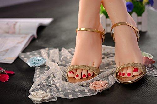 Huanjing 1 Paar Silikon Füße Realistische Mädchen Fuß Modell Unterricht Malerei Sammlung Silikon Fuß
