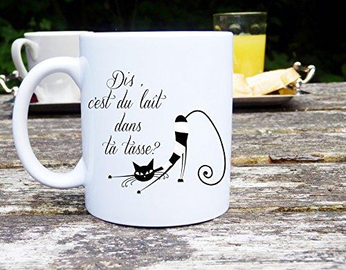 Exceptionnel Mug chat, mug humour, Mug personnalisé, Mug original, tasse à café  PG21