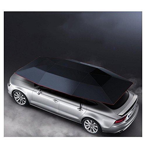 Preisvergleich Produktbild ZGFlhq Multifunktionale Automatic Vehicle Deckung Verdickung Sonne Schattierung Wärmedämmung An Bord Cyan Automatische