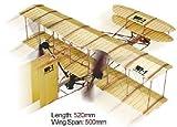 Rubber Band Brothers Wright WF-1 Propulsé 2 Avion Hélice Kit - Lyonaeec 88010...