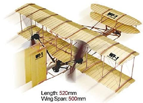 Rubber Band Brothers Wright WF-1 Propulsé 2 Avion Hélice Kit - Lyonaeec 88010