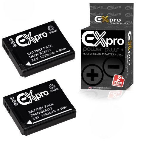 Ex-Pro DMW-BCM13E - Batería cámara Fotos Panasonic