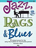 Jazz, Rags & Blues 2 (Buch & CD): 8 original Pieces for the early intermediate to intermediate Pianist