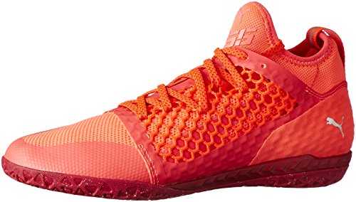 f2c3ca3db Puma Herren 365 Ignite Netfit CT Fußballschuhe, Orange (Fiery Coral- White- Toreador