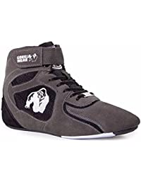 Gorilla Wear Bodybuilding Schuhe High Tops Schwarz und Rot