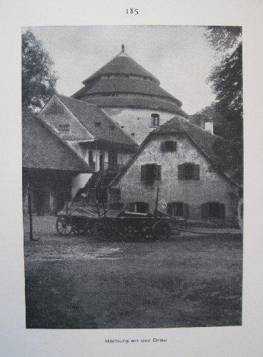 Marburg an der Drau / Pettau an der Drau - historischer Fotodruck - 1926