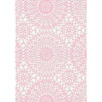 Fine Décor Fablon - Rollo de plástico adhesivo (45 x 200 cm), color rosa