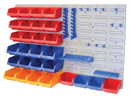 Faithfull BD25PRO - Organizador de herramientas para pared (43 piezas)
