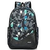 Maod juveniles Backpack Impermeables Mochila de Ordenador Impresión Bolsos Escolares portatil mochilas escolares 15.6 Pulgadas mochila (Verde)