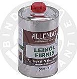 Leinöl - Firnis Holzimprägnierung & zum Herstellen von Ölfarben (500 Gramm)