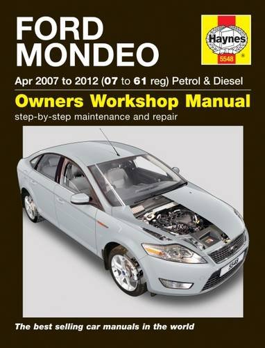 Ford Mondeo 07-12 Service and Repair Manual (Haynes Service and Repair Manuals)