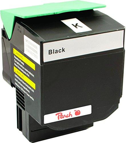 Preisvergleich Produktbild Peach Tonermodul schwarz kompatibel zu Lexmark C540H2KG, C54x, X54x