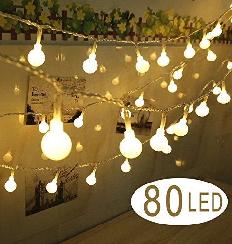 hterkette hellen LED Lampe Landarbeiter Decorative Kugel Licht Kugel-Garten der Haus für Weihnachtsdekoration Party Hochzeit (Raum Geburtstag Versorgt)