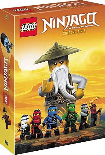 Coffret lego ninjago, les maîtres du spinjitzu, saisons 3 à 9 [FR Import]