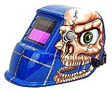 Spargos Oscurecimiento automático soldadura ojos Protección Solar casco corte con Gas Tig soldador Mig con varios diseños con función de molienda