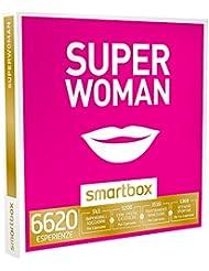 SMARTBOX - Cofanetto Regalo - SUPERWOMAN - Divertenti soggiorni, cene, momenti di benessere, sport e arte