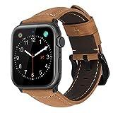 MroTech Bracelet compatible avec iWatch 44mm 42mm Watch Band pour Homme Bande de Montre Bracelet de Remplacement pour iWatch Séries 4 Séries 3 Séries 2 Séries 1 42 44 mm Kaki