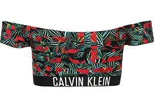 Calvin Klein Underwear Off Shoulder Top-Print W Bikini Oberteil geo tropic intense power