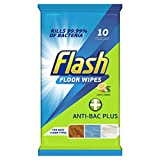 Flash Anti-Bacterial Plus Lemon Cleaning Wipes Pack of 10 units