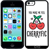 DesignedByIndependentArtists Coque Silicone pour Iphone 5C - Cherryfic! by...