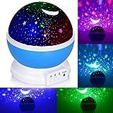 Lumière de nuit pour enfants, Adoric bébé Projecteur d'étoiles lumière de nuit...