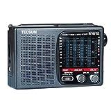 Best Emergency Shortwave Radios - PIAOLING Portable Radio Portable Radio 12-band FM/Short Wave/Medium Review