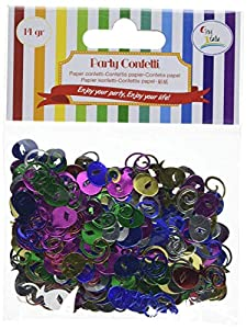 GiviItalia 51022 Confeti - Globos de metal, multicolor