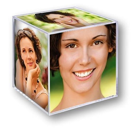 Cube Transparent - Zep 8151 Décoration de la Maison Cube