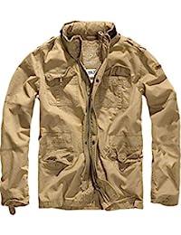 Brandit Veste - Jacket Britannia - Vintage Mens Military M65 Style Army Lightweight Jacket